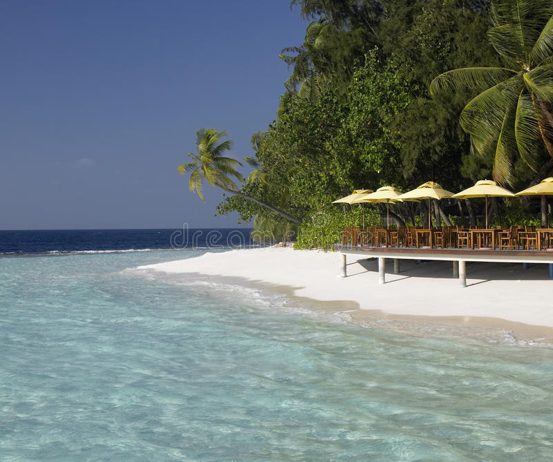 Download Luxury Tropical Beach Resort In The Maldives Stock Photo - Image of shallow, maldives: 17244342