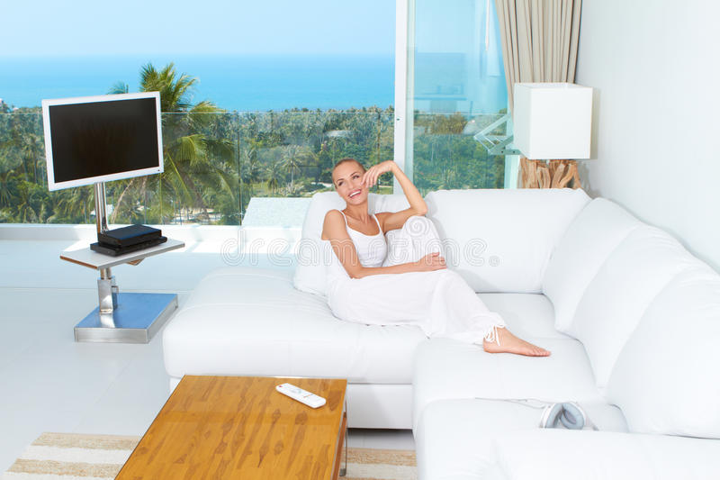 Luxury Of A Tropical Lifestyle Stock Image