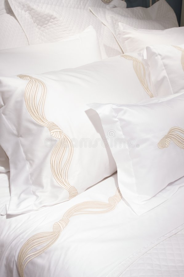 Download Luxury Upscale Bedding And Linens Stock Photo - Image: 6565518
