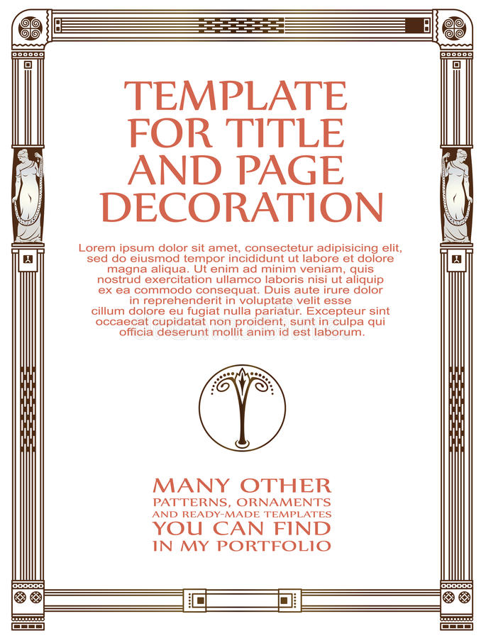 Luxury vector frame with border in greek style stock vector download luxury vector frame with border in greek style stock vector illustration of golden m4hsunfo