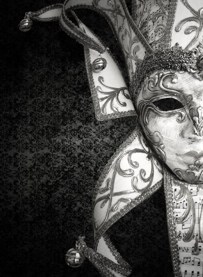 Luxury Venetian mask stock photo