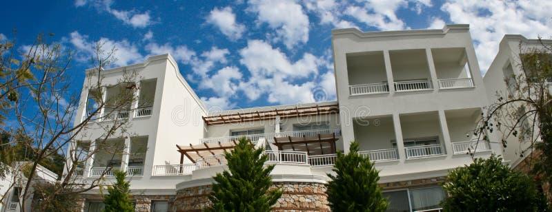 Luxury villa stock photography