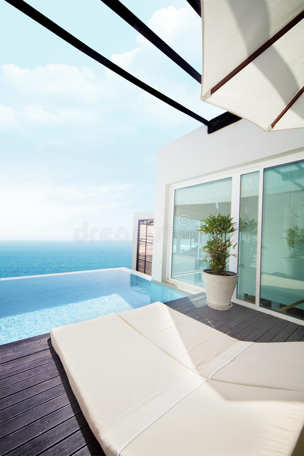 Download Luxury Villa With Ocean View Stock Photo - Image: 26578762