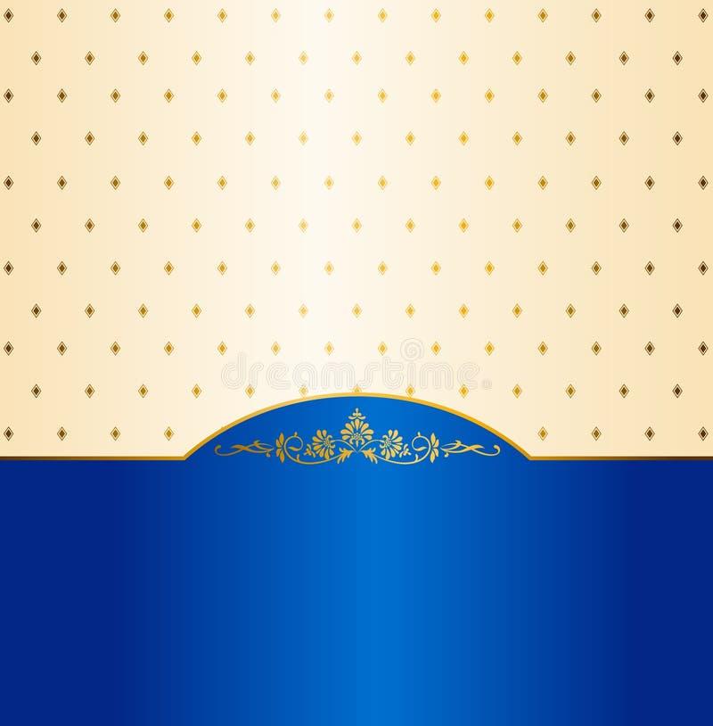 Luxury vintage background. vector illustration