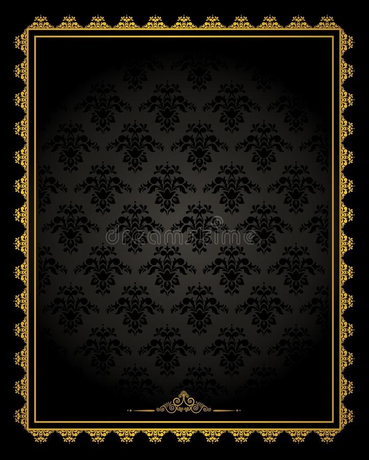 Download Luxury Vintage Tapestry Background. Stock Vector - Image: 20776455
