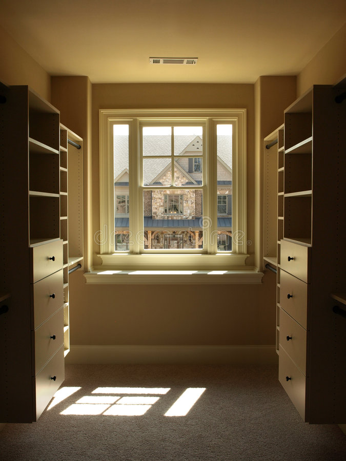 Luxury Walk-in Closet