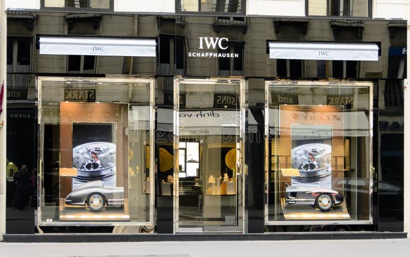 Luxury Watch IWC stock photo