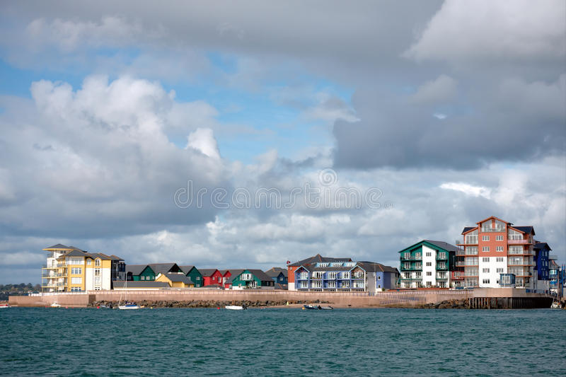 Download Luxury Waterside Apartments Royalty Free Stock Photo - Image: 21510255