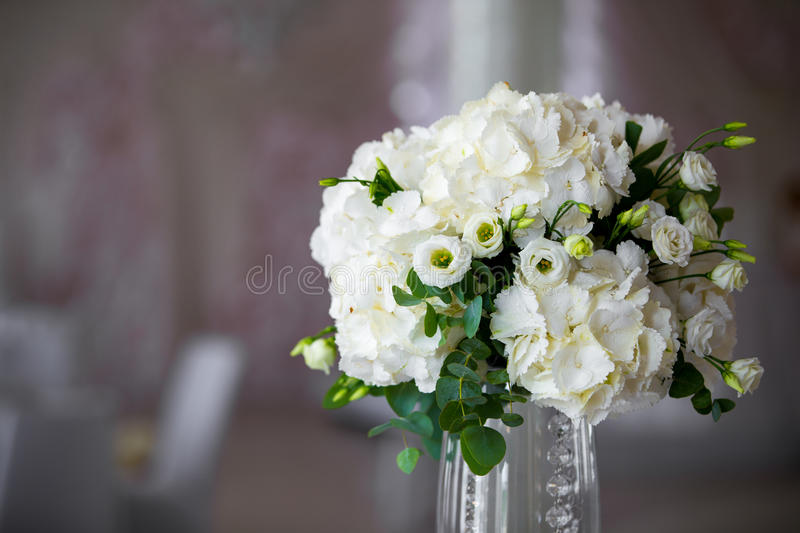 luxury wedding flower arrangement stock image image. Black Bedroom Furniture Sets. Home Design Ideas