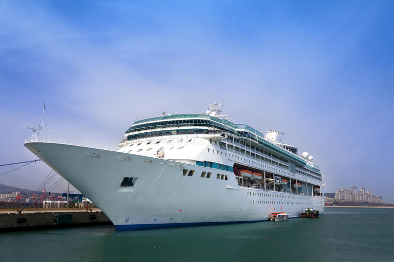 Download Luxury white cruise ship stock image. Image of outdoors - 13972817