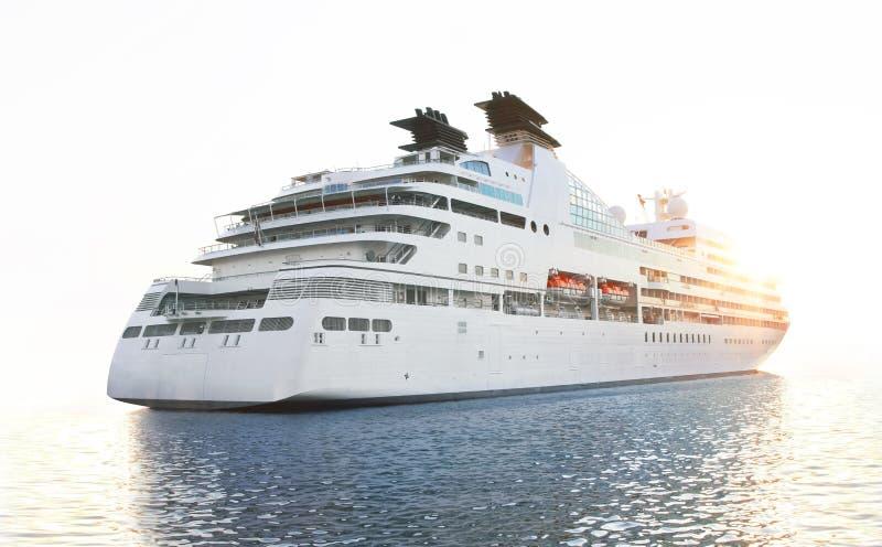 Download Luxury white cruise ship stock image. Image of travelling - 20373197