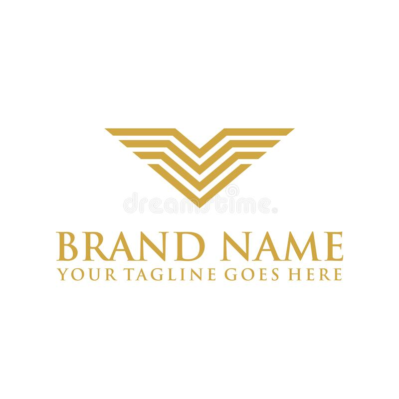 Letter K Feather Logo Template: Abstract Logo Element Icon In Letter K . Business Company