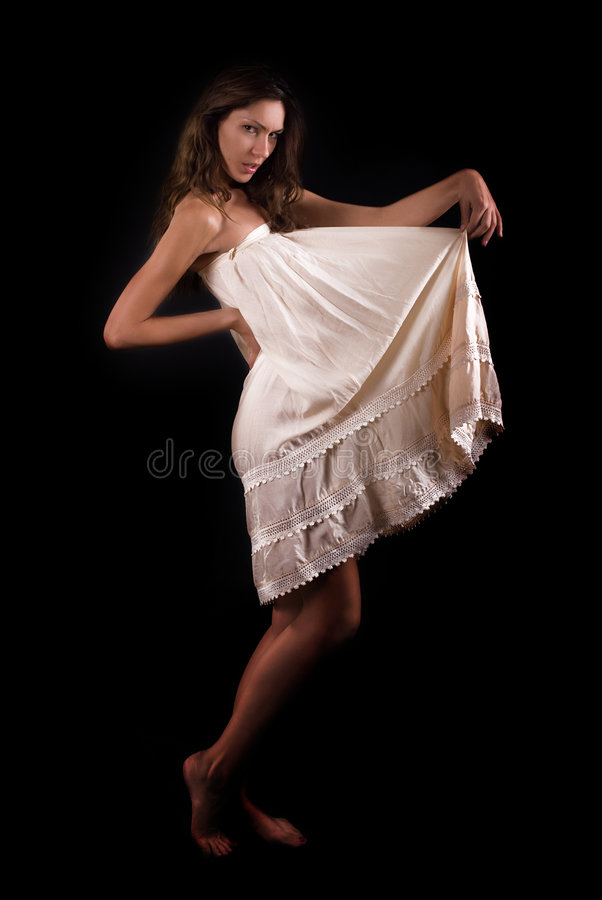 Luxury woman royalty free stock photography