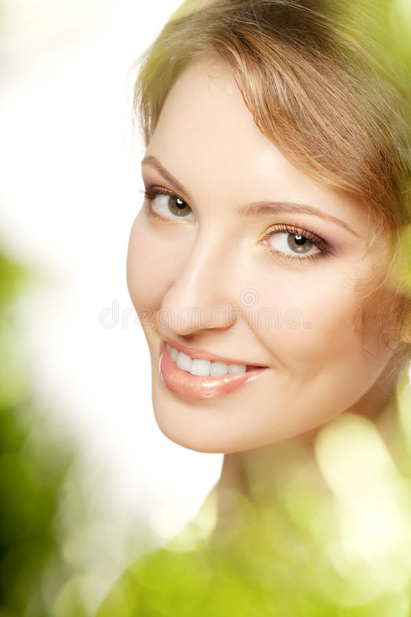 Luxury woman with a beautiful makeup. Image of luxury woman with a beautiful makeup stock photos