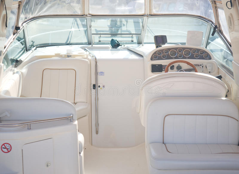 Download Luxury yacht stock photo. Image of fore, leather, cabinet - 15235166