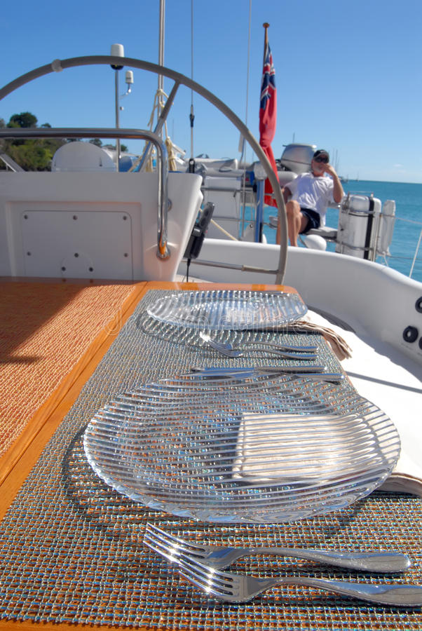 Download Luxury yacht stock image. Image of raft, cockpit, private - 26778989