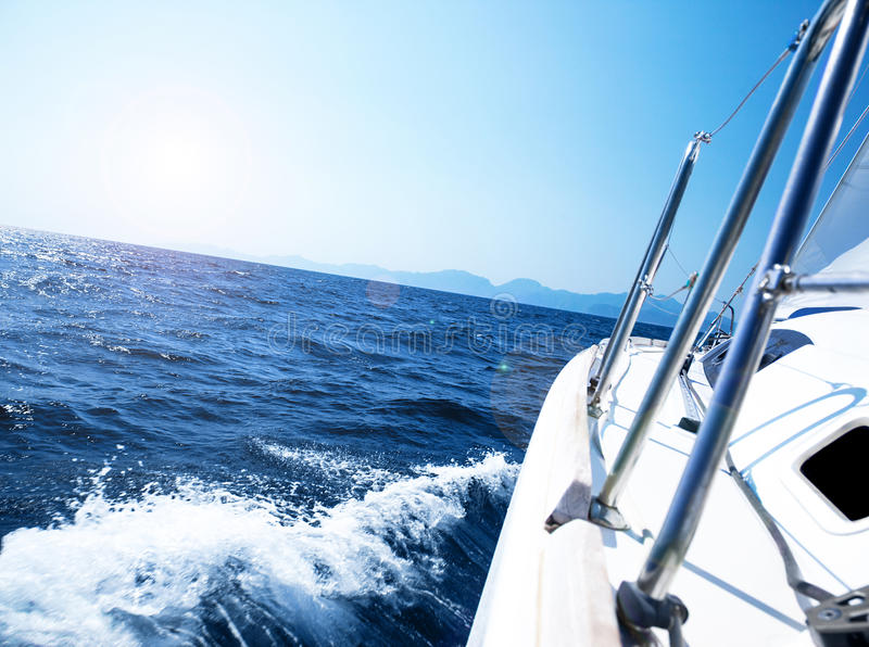 Download Luxury yacht stock photo. Image of journey, ship, navigation - 27580504