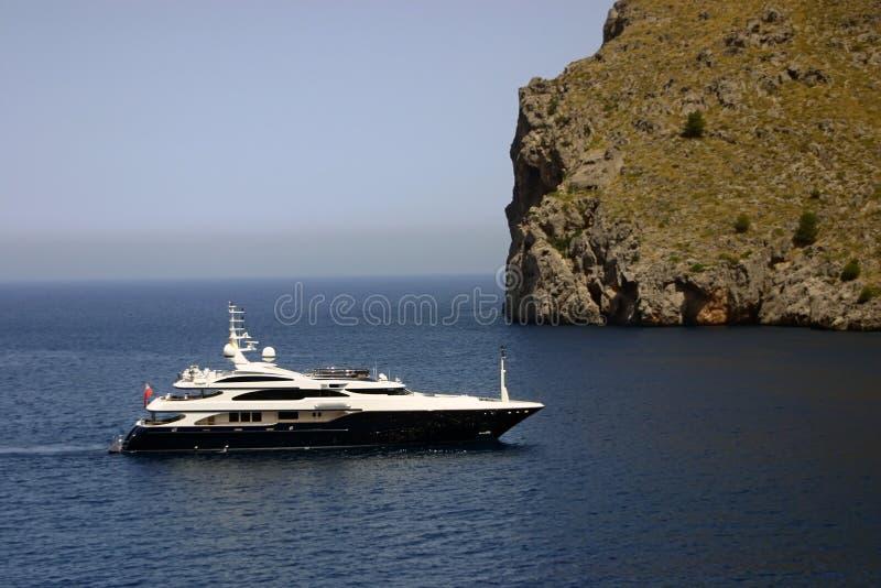 luxury yacht 库存图片