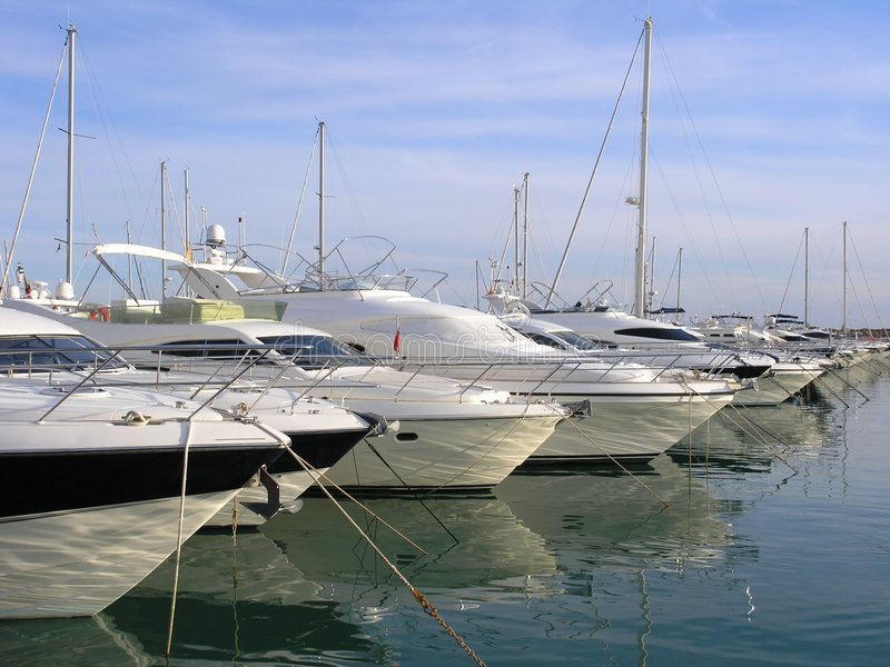 Luxury yachts or boats