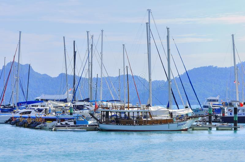 Download Luxury Yatch In Langkawi Island Editorial Stock Photo - Image of holiday, asia: 28134948