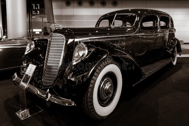 Luxusauto Lincoln Model K, 1937 stockfoto