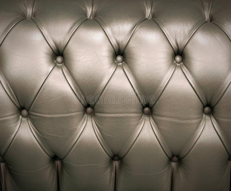 Luxusbeschaffenheit von ledernen Möbeln lizenzfreies stockfoto
