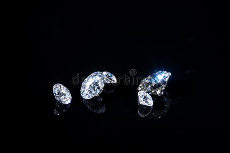 Luxusdiamanten stockfoto