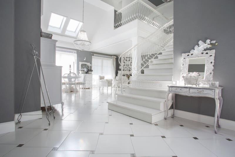 Luxuseingangshalle stockbild. Bild von wohnung, modern - 46981391