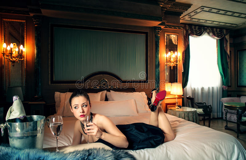 Luxusgetränke stockfoto