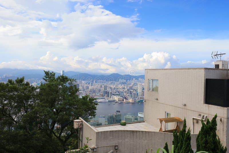 Luxushaus an der Spitze von HK lizenzfreie stockfotos