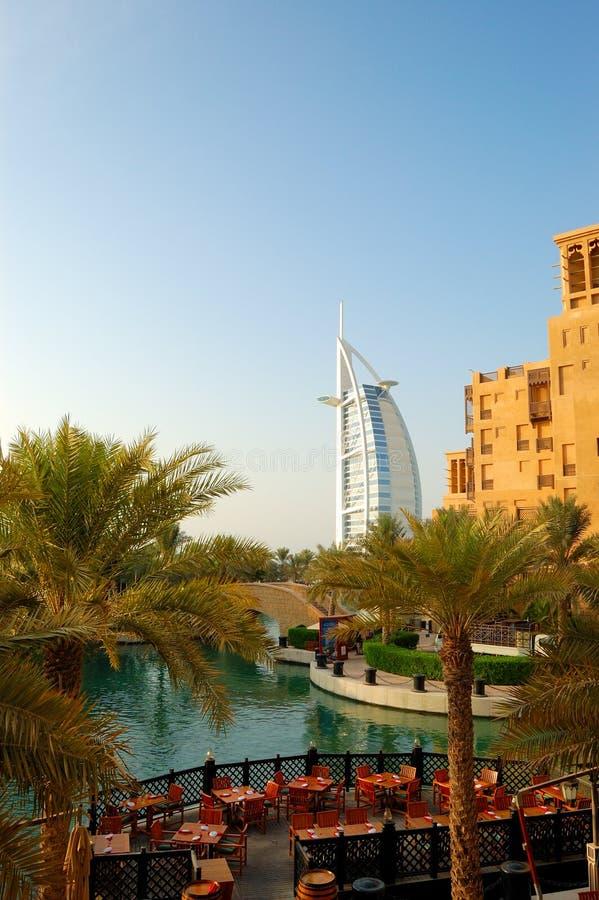 Luxushotel Burj Al-Araber   stockfotografie