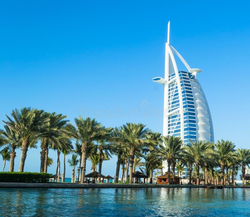 Luxushotel Burj Al-Araber lizenzfreies stockfoto