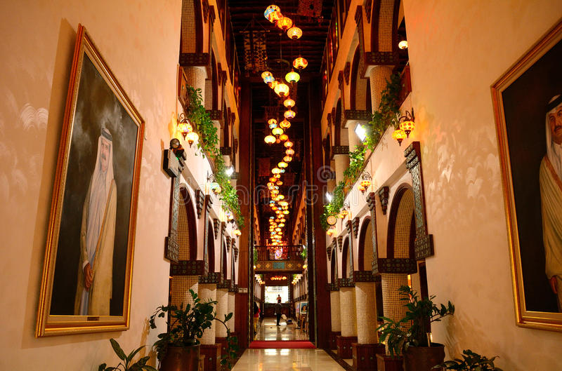 Luxushotel, Doha, Katar lizenzfreies stockfoto