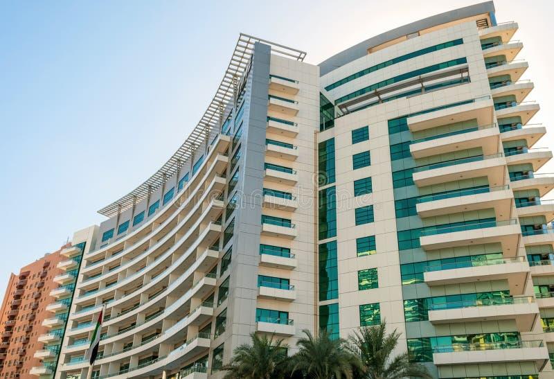 Luxushotel in Dubai stockfotografie