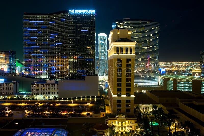 Luxushotel kosmopolitisch in Las Vegas, USA lizenzfreie stockbilder