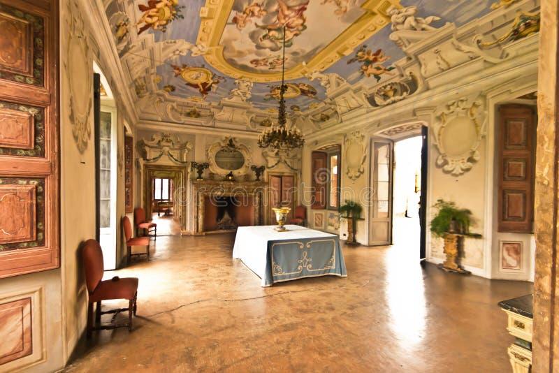 Luxusraum im Palast lizenzfreie stockfotografie