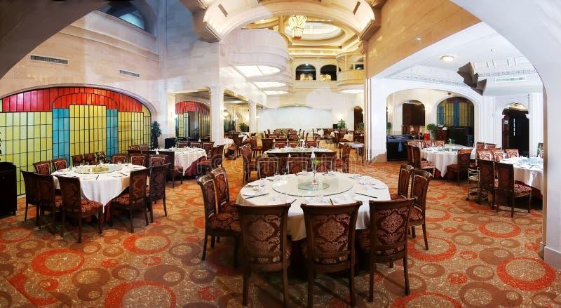 Luxusrestaurant lizenzfreies stockbild