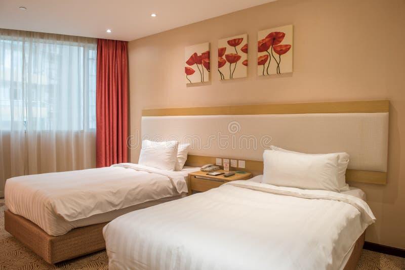 Luxusschlafzimmer-Reihe stockbilder