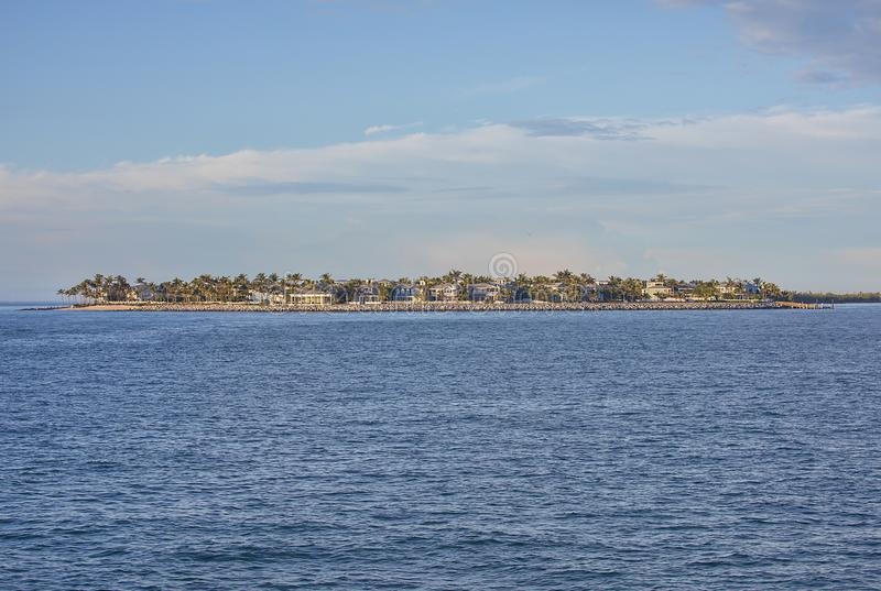 Luxusufergegend-Insel-Leben lizenzfreie stockbilder