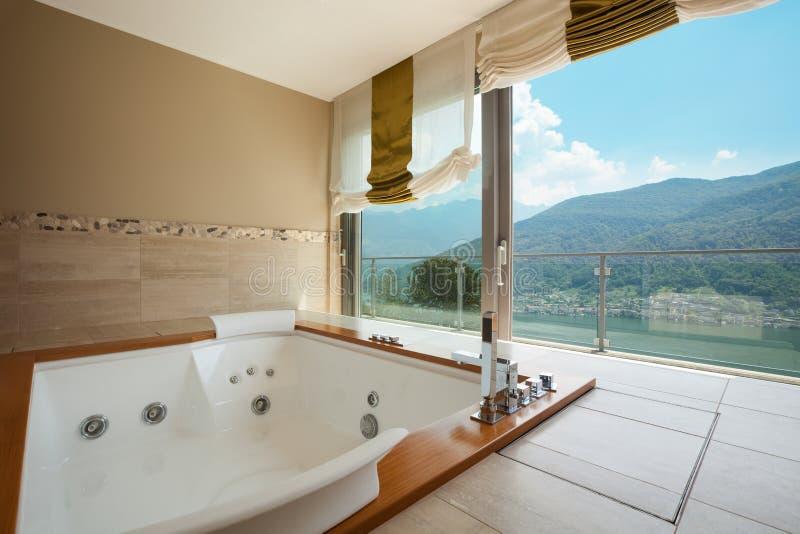 Luxuswohnung, Badezimmer stockfoto