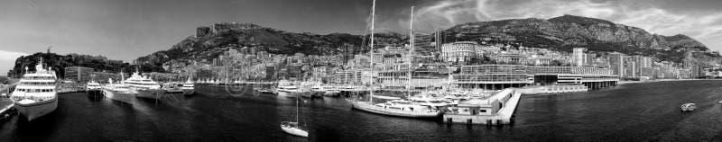 Luxusyachten am Hafen von Monte Carlo, Monaco lizenzfreie stockfotografie