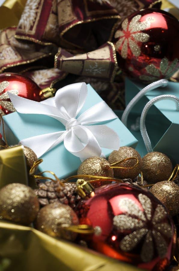 Luxuxweihnachten stockbild