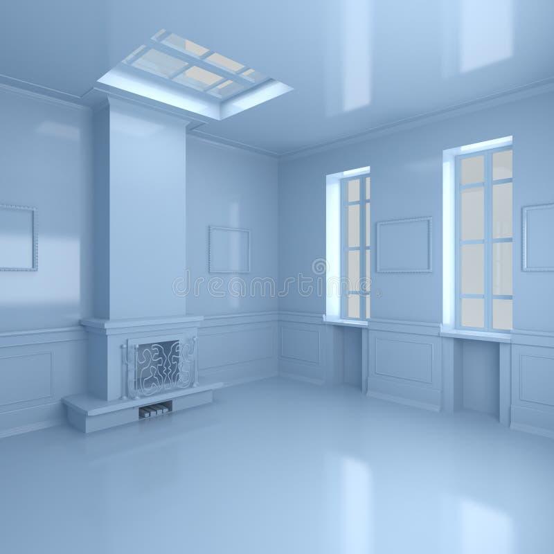 Luxuxwohnzimmer stock abbildung