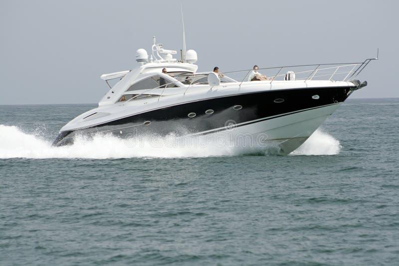 Luxuxyacht stockfoto