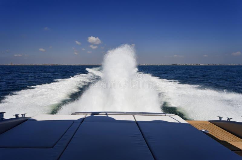 Luxuxyacht Alfamarine 60 ' stockfoto