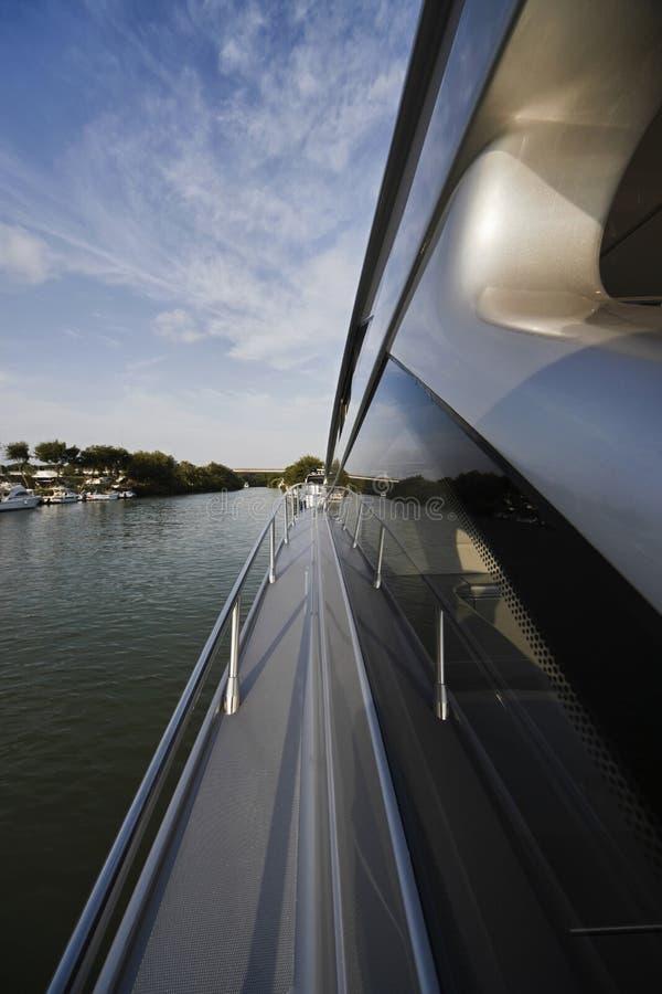 Luxuxyacht Alfamarine 60 ' stockbilder