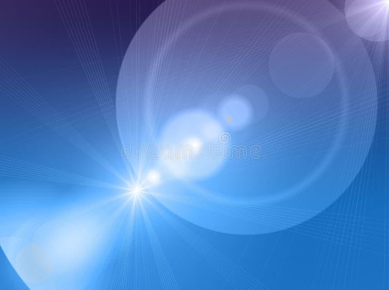 Luz ilustração stock