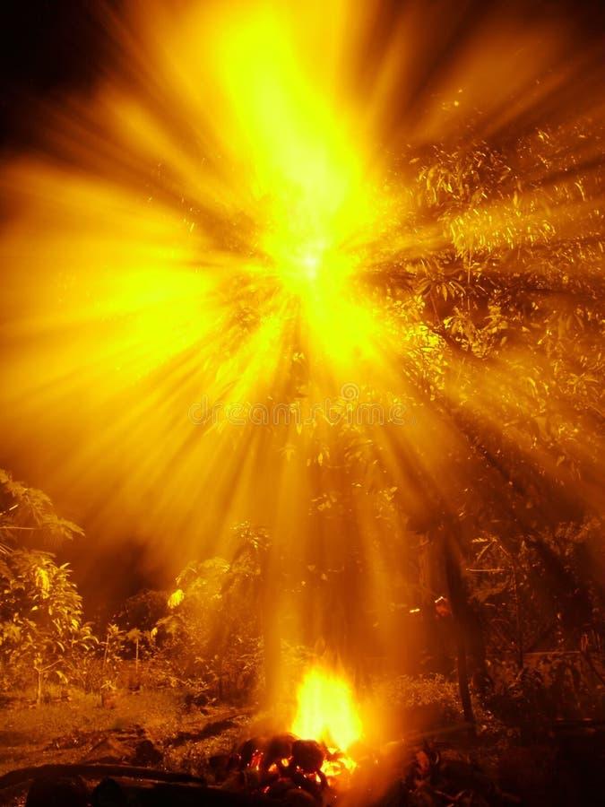 Luz Fotografia de Stock