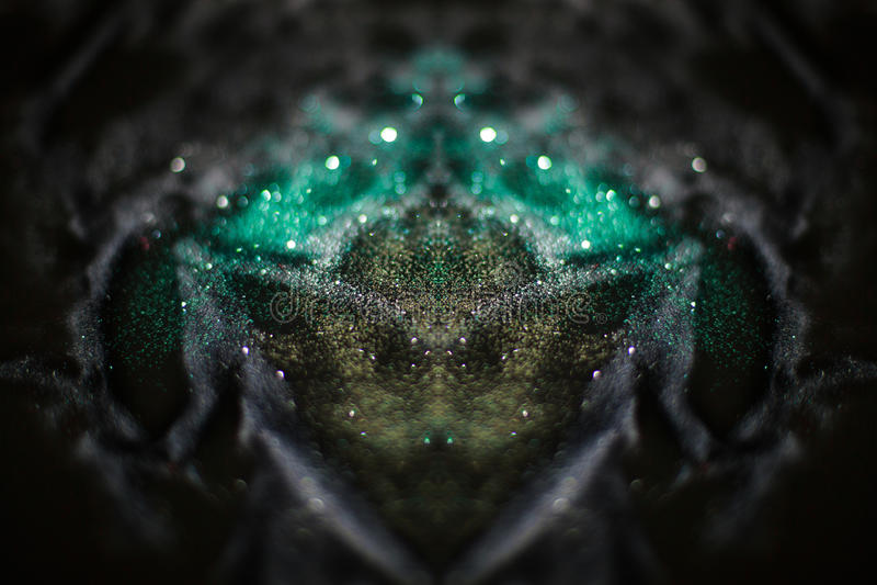 Luz abstracta del bokeh imagenes de archivo
