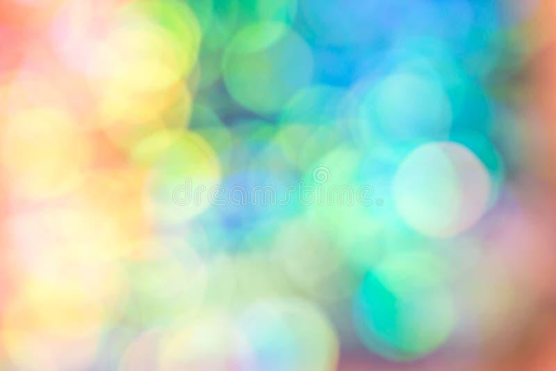 Luz abstracta del bokeh del color del vestido de la lentejuela de la falta de definición foto de archivo libre de regalías